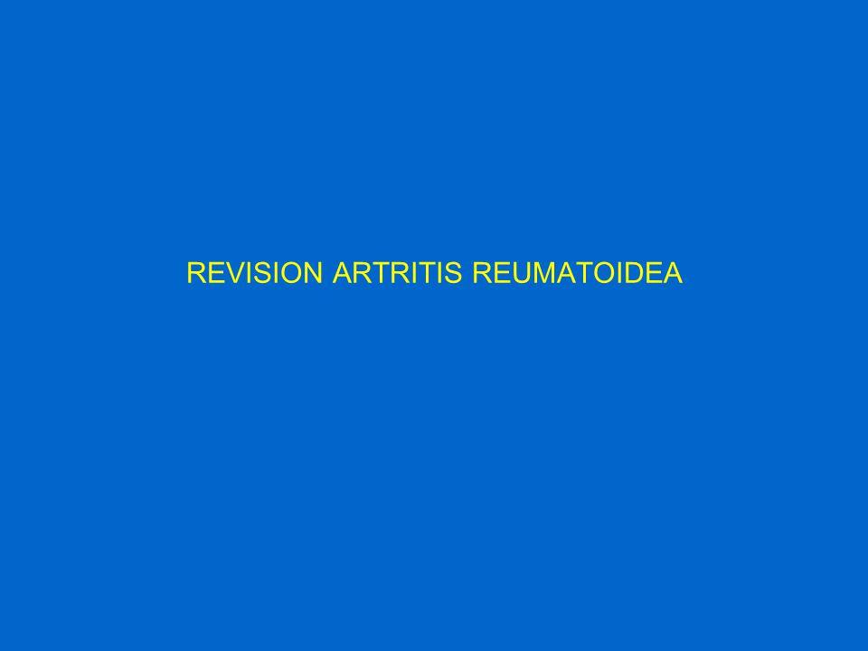 REVISION ARTRITIS REUMATOIDEA