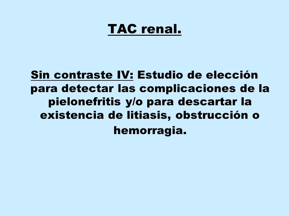 TAC renal.
