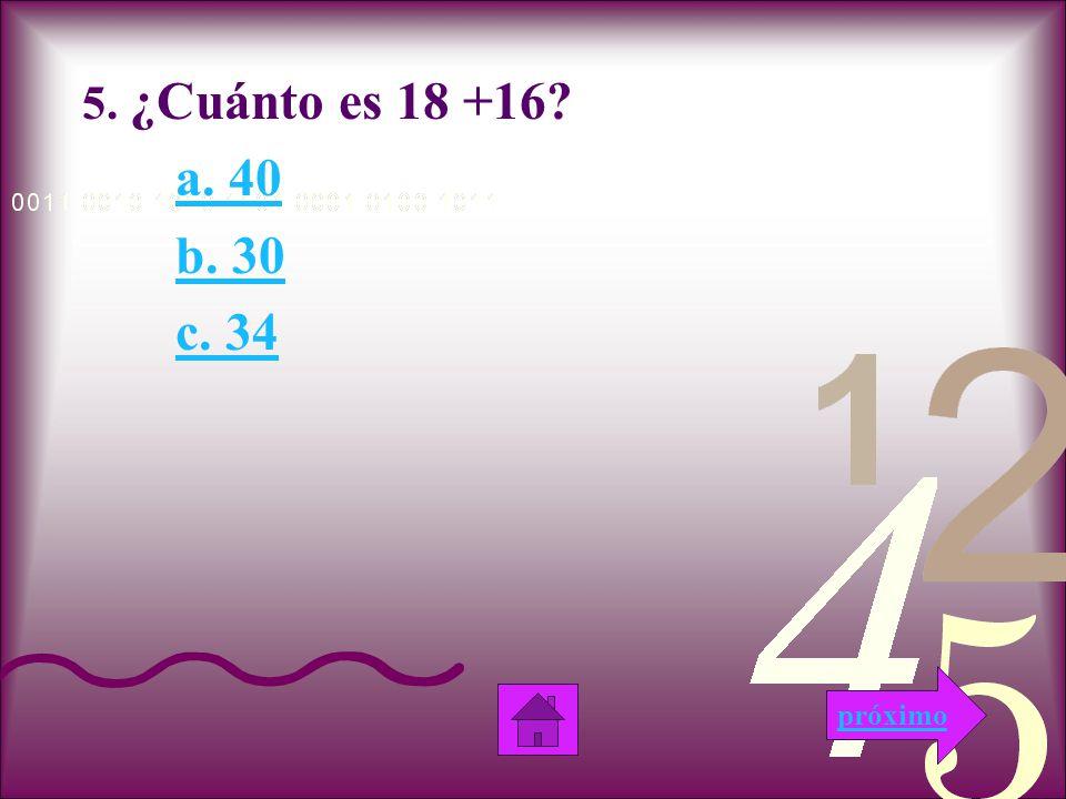 No Esta correcta!!.Esta respuesta es incorrecta, porque la suma de 13 + 16 no es 31.
