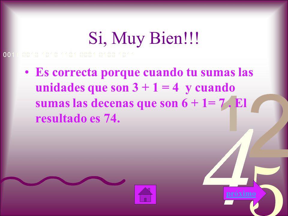 Examen 1.¿Cuánto es 63 + 11? a. 70 b. 80 c. 74 próximoanterior