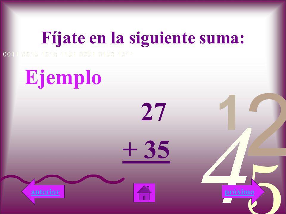 Muy Bien!!! Esta respuesta es correcta, porque la suma de 11 + 11 es 22. próximo