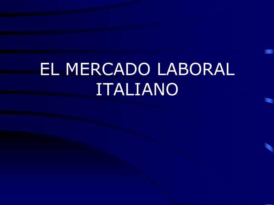 La economía italiana es capitalista con un Norte muy industrializado y un Sur con un menor grado de desarrollo industrial Es muy relevante la exportación de productos manufacturados en el exterior: a Alemania,Francia, Estados Unidos, UK y también a los mercados rusos y asiàticos.