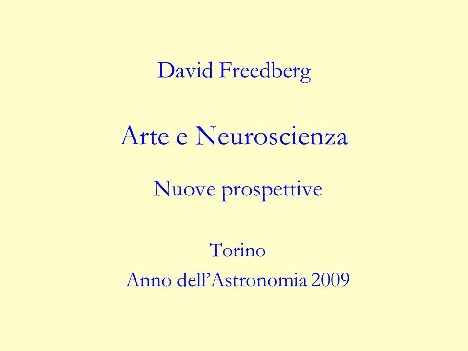 David Freedberg Arte e Neuroscienza Nuove prospettive Torino Anno dellAstronomia 2009