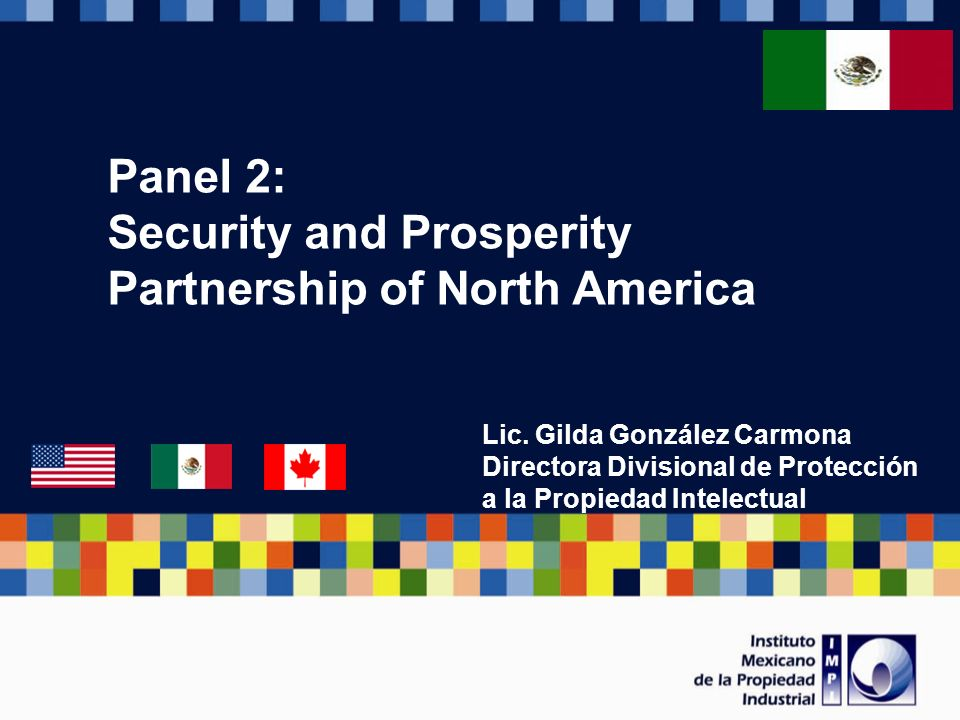 Panel 2: Security and Prosperity Partnership of North America Lic.