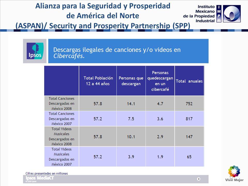 12 Alianza para la Seguridad y Prosperidad de América del Norte (ASPAN)/ Security and Prosperity Partnership (SPP)