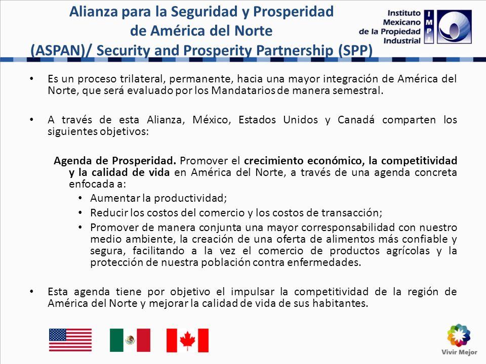 Es un proceso trilateral, permanente, hacia una mayor integración de América del Norte, que será evaluado por los Mandatarios de manera semestral.
