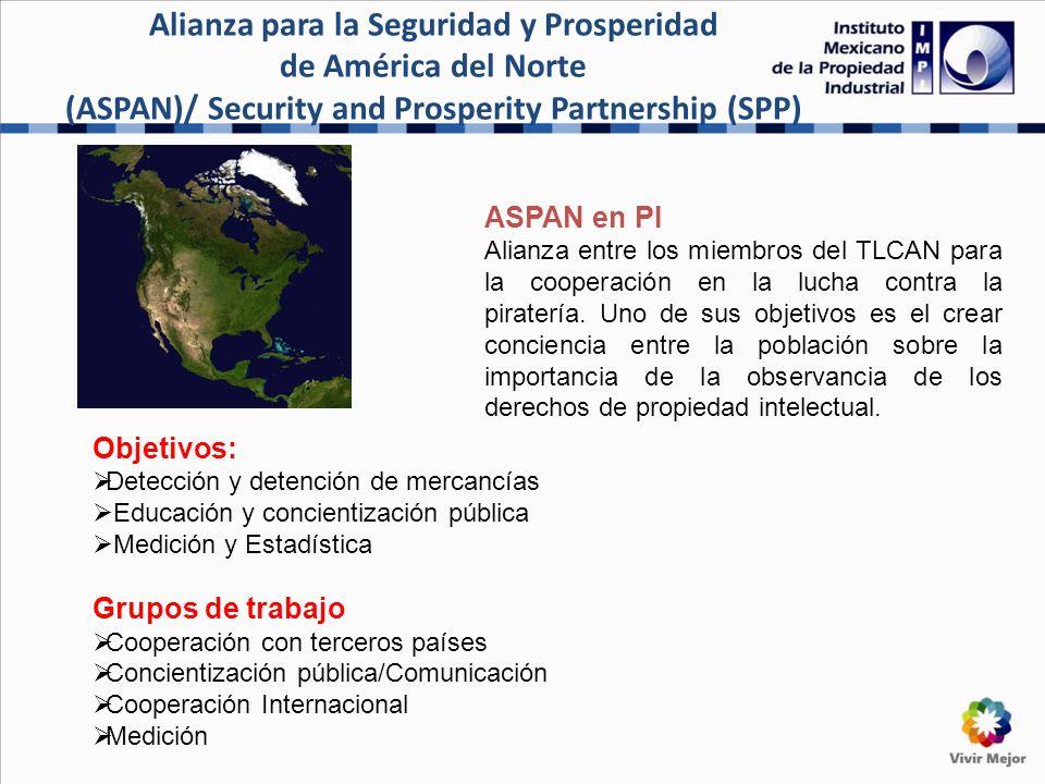 ASPAN/SPP AGENDA PROSPERIDAD/ PROSPERITY AGENDA PROPIEDAD INTELECTUAL/INTELLECTUAL PROPERTY CONCIENTIZACIÓN PÚBLICA/PUBLIC AWARENESS