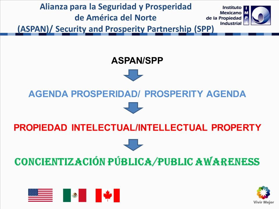 IMPI has also two agreements with Mexican Associations of Customs Brokers Objective: To train each other on IPR and customs matter, to deter the international trade of pirated and counterfeit goods.