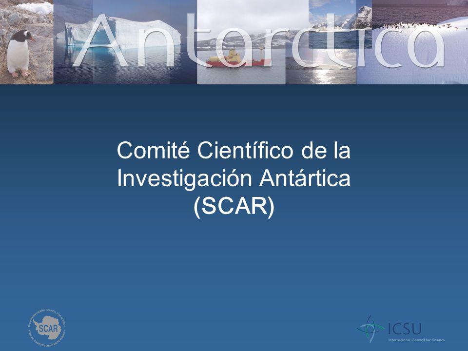 Una Historia Breve de SCAR El SCAR se creó en el año geofísico 1957-58 En 2009, contamos con 35 naciones y 9 uniones científicos (ex-USSR)