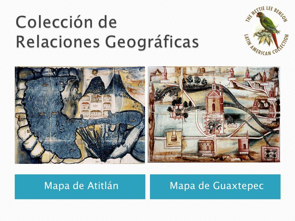Mapa de AtitlánMapa de Guaxtepec