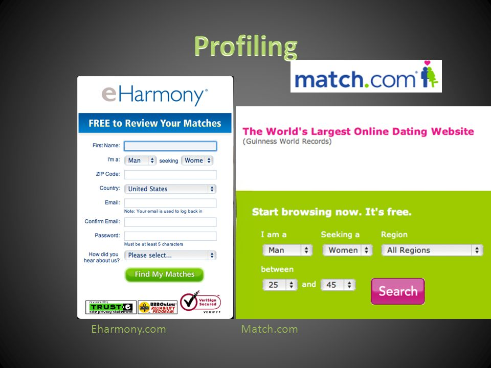 Eharmony.comMatch.com