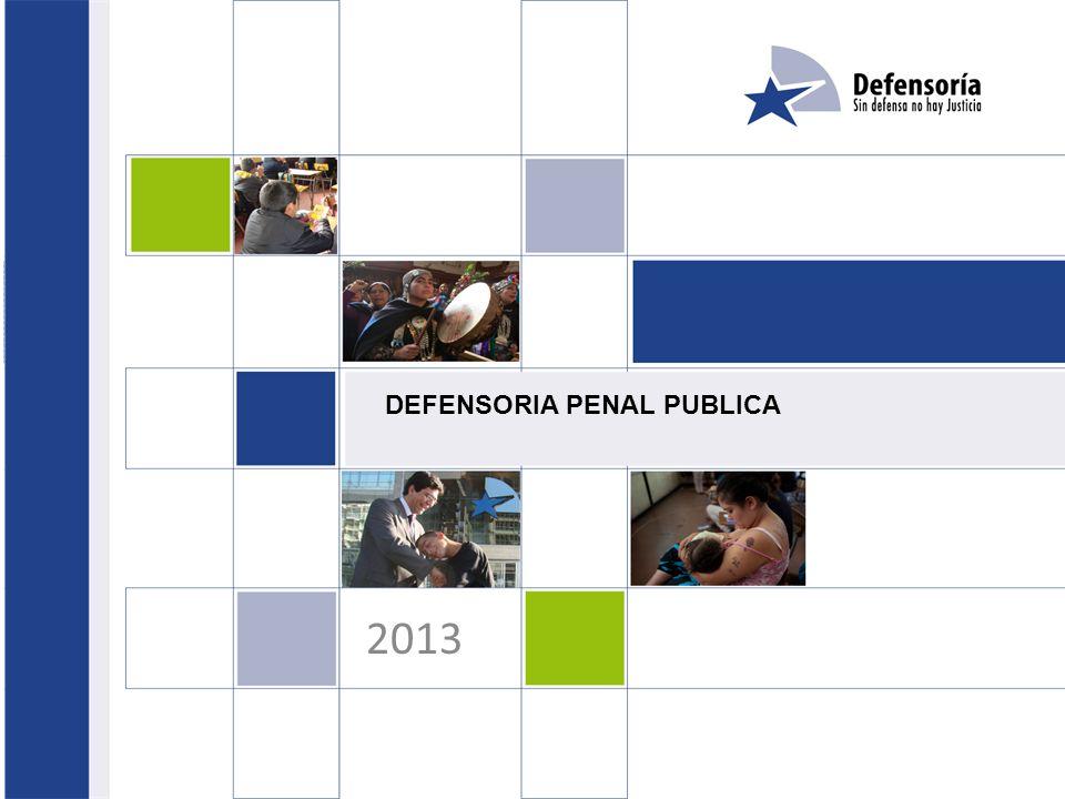 DEFENSORIA PENAL PUBLICA 2013