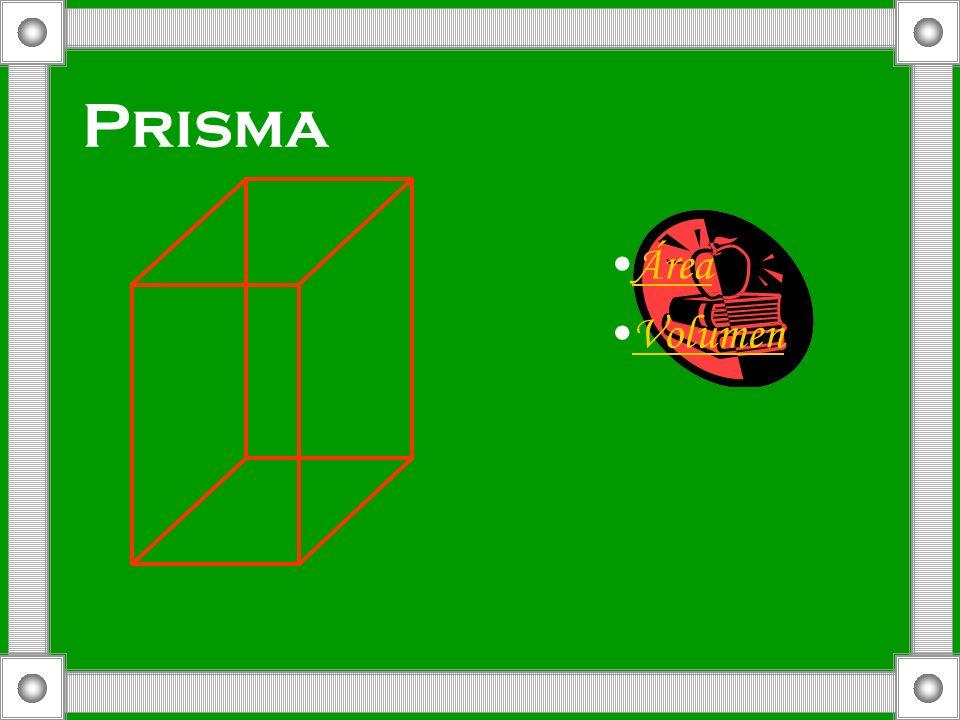 Prisma Área Volumen