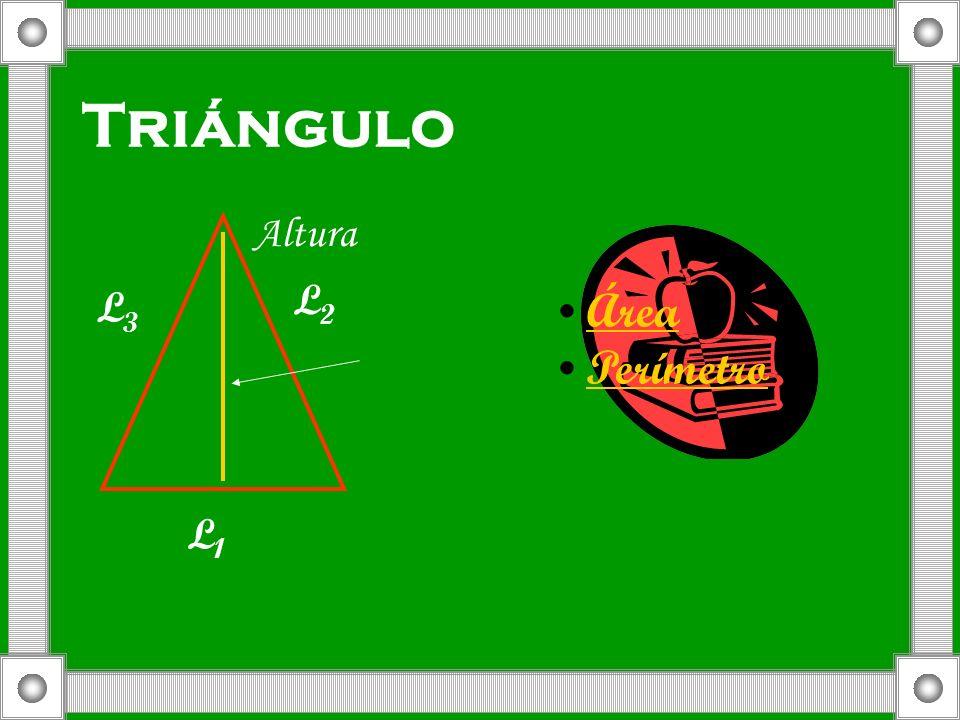 Triángulo Altura L2L2 L1L1 L3L3 Área Perímetro