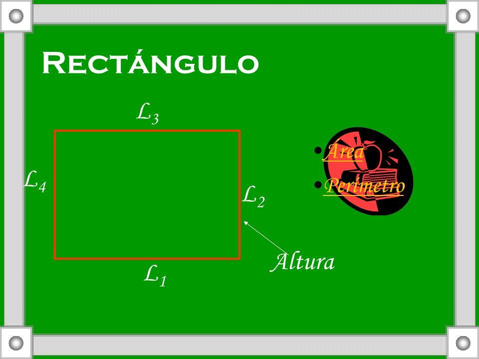 Rectángulo Área Perímetro L1L1 L2L2 L3L3 L4L4 Altura
