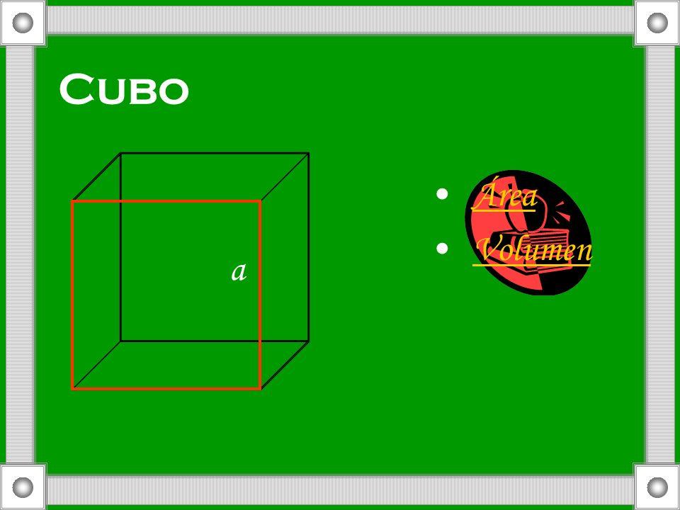 Cubo a Área Volumen