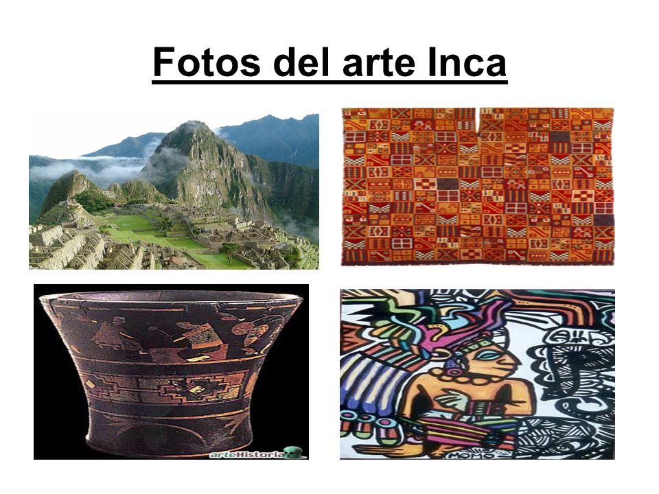 Fotos del arte Inca