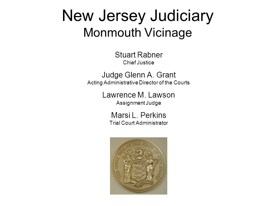 Welcome to the Superior Court of New Jersey Monmouth Vicinage Family Division Honora OBrien Kilgallen Presiding Judge Family Part Lori B.