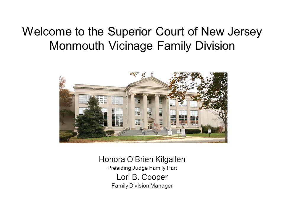Monmouth Vicinage Volunteer Program Each county in New Jersey offers volunteer program opportunities.