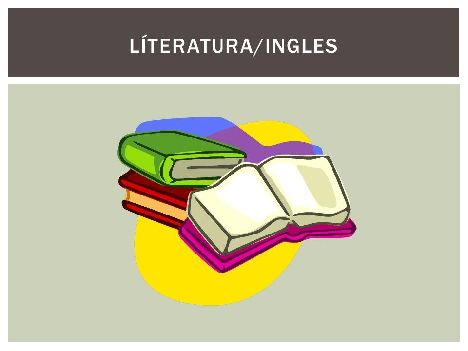 LÍTERATURA/INGLES