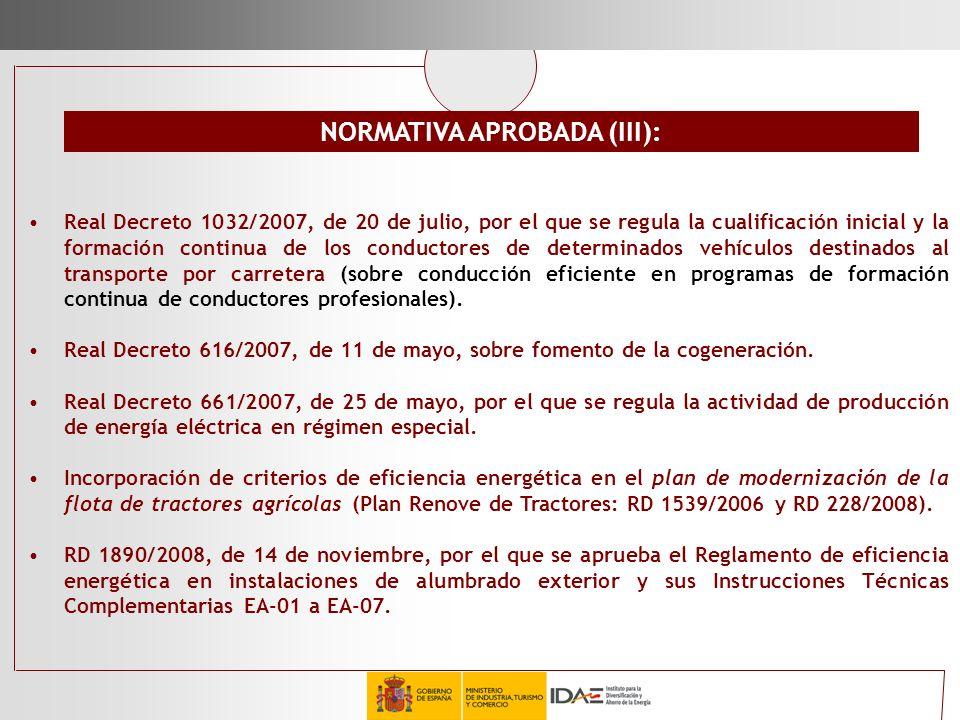 Real Decreto 1032/2007, de 20 de julio, por el que se regula la cualificación inicial y la formación continua de los conductores de determinados vehíc