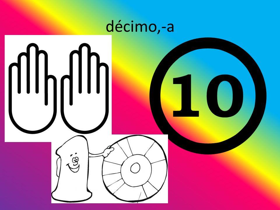 décimo,-a