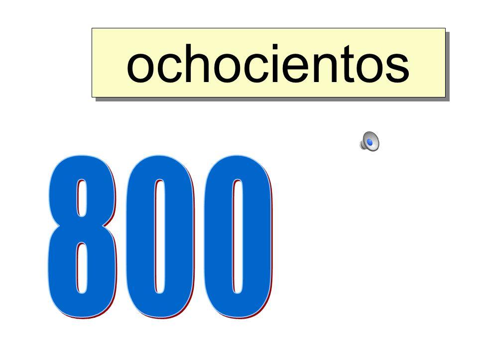 setecientos