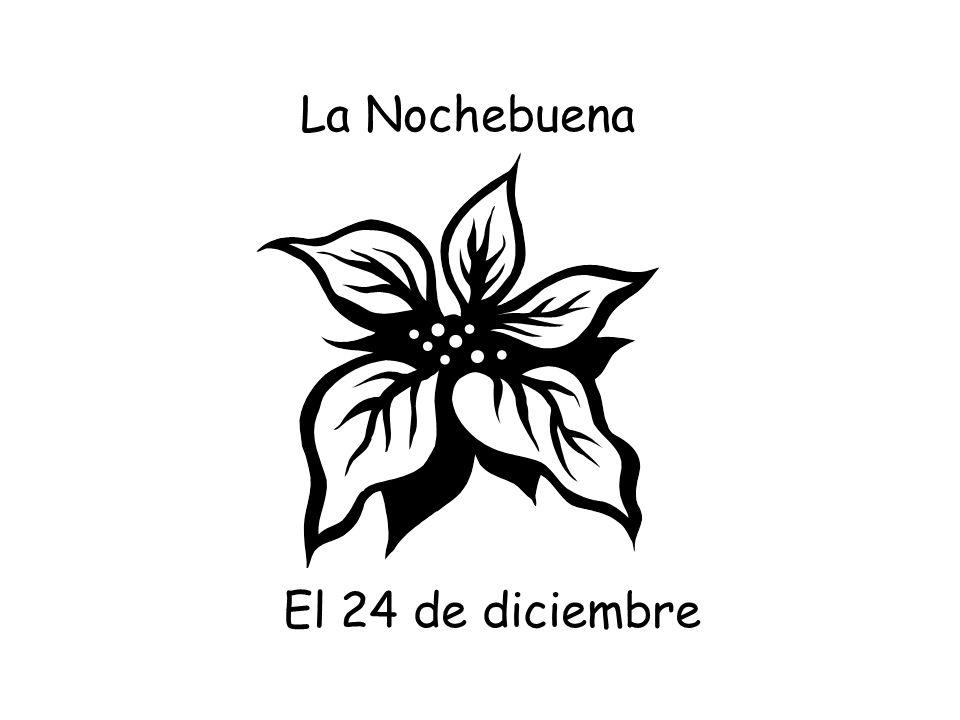 El 25 de diciembre La Navidad