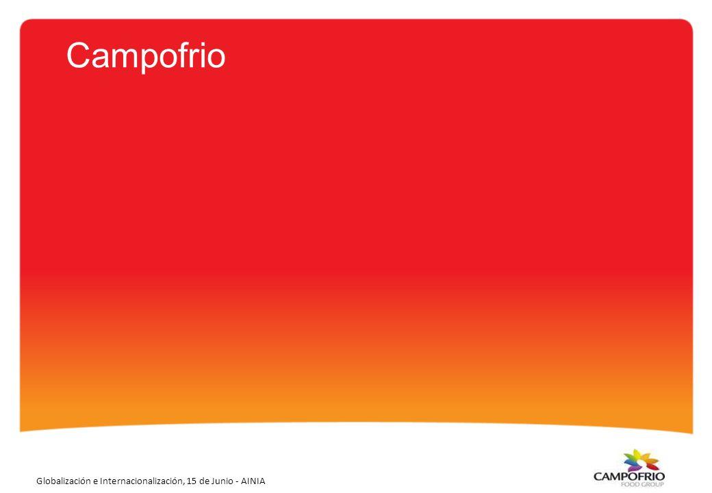 3 Campofrio ha conseguido en sus 57 años de historia ser la compañía líder en conocimiento del consumidor, en innovación y en productos de valor añadido.
