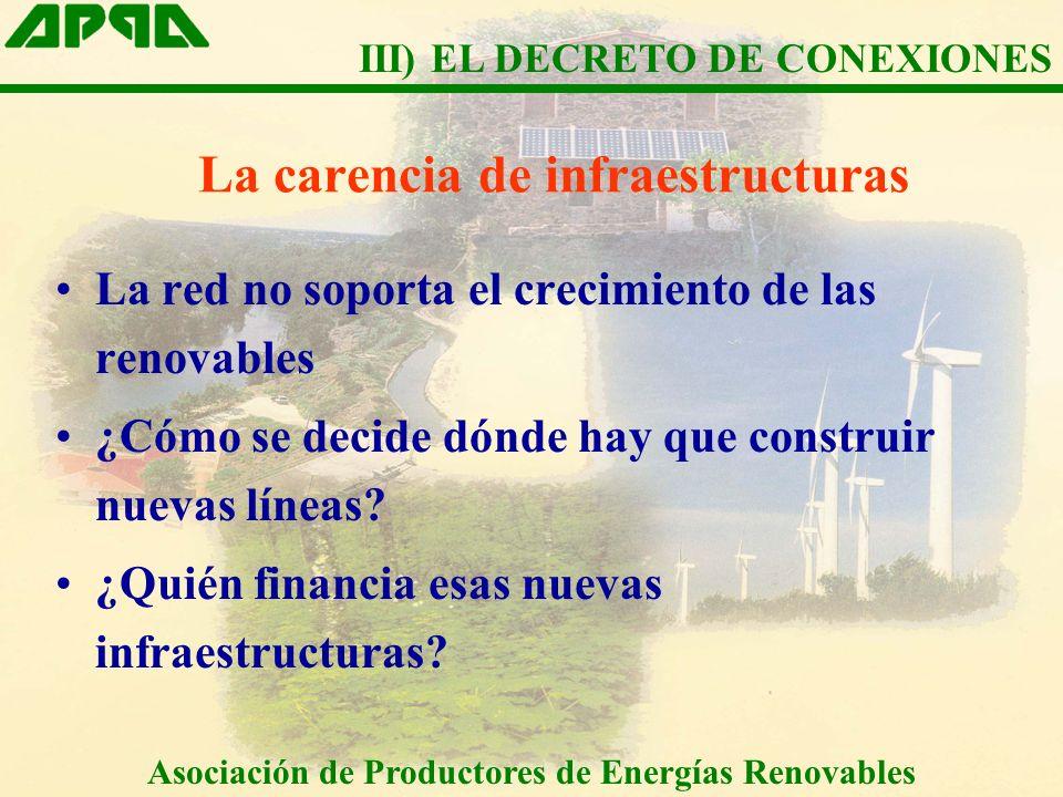 La carencia de infraestructuras La red no soporta el crecimiento de las renovables ¿Cómo se decide dónde hay que construir nuevas líneas.