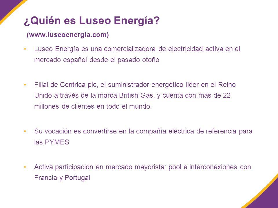 ¿Quién es Luseo Energía.