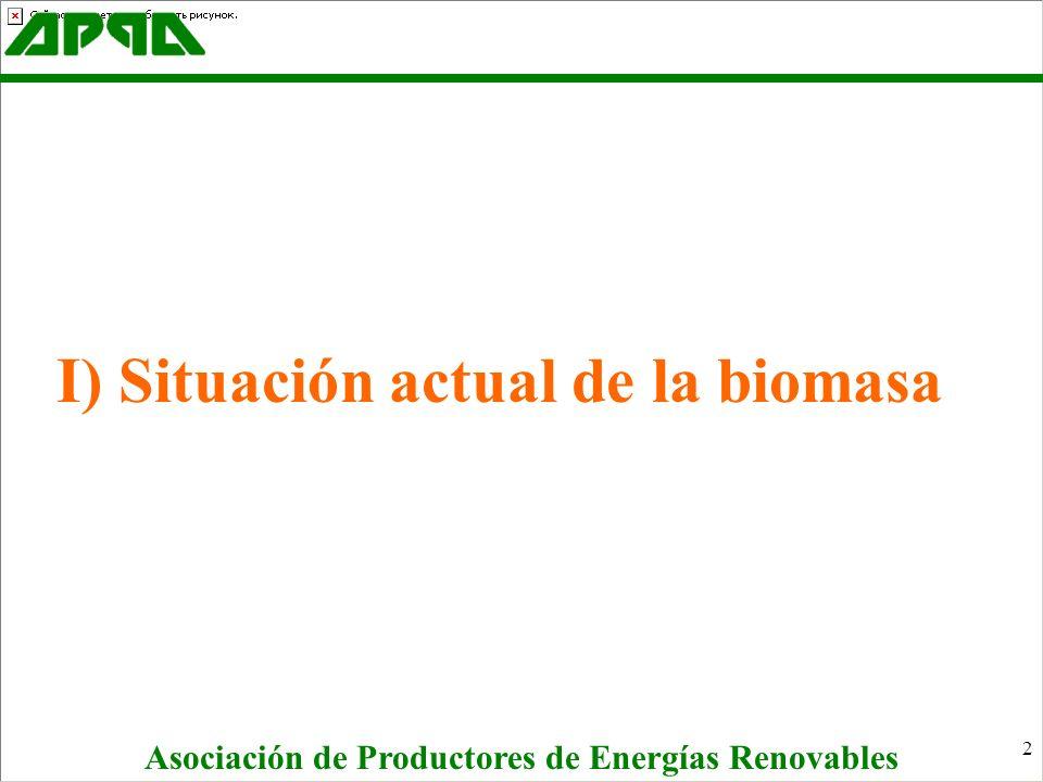 23 Aunque la Biomasa es una renovable con objetivos importantes a medio plazo, que no serán alcanzables sin una mejora legal y económica, el RD 436 no mejora sustancialmente las condiciones actuales.