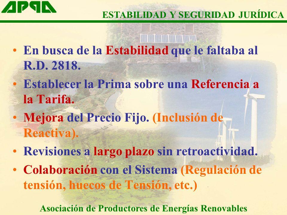 Asociación de Productores de Energías Renovables Art.