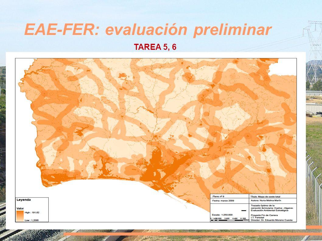 EAE-FER: evaluación preliminar TAREA 5, 6