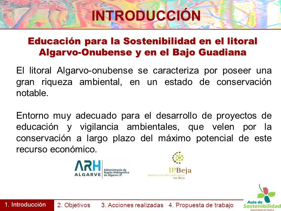 Educación para la Sostenibilidad en el litoral Algarvo-Onubense y en el Bajo Guadiana INTRODUCCIÓN 1.