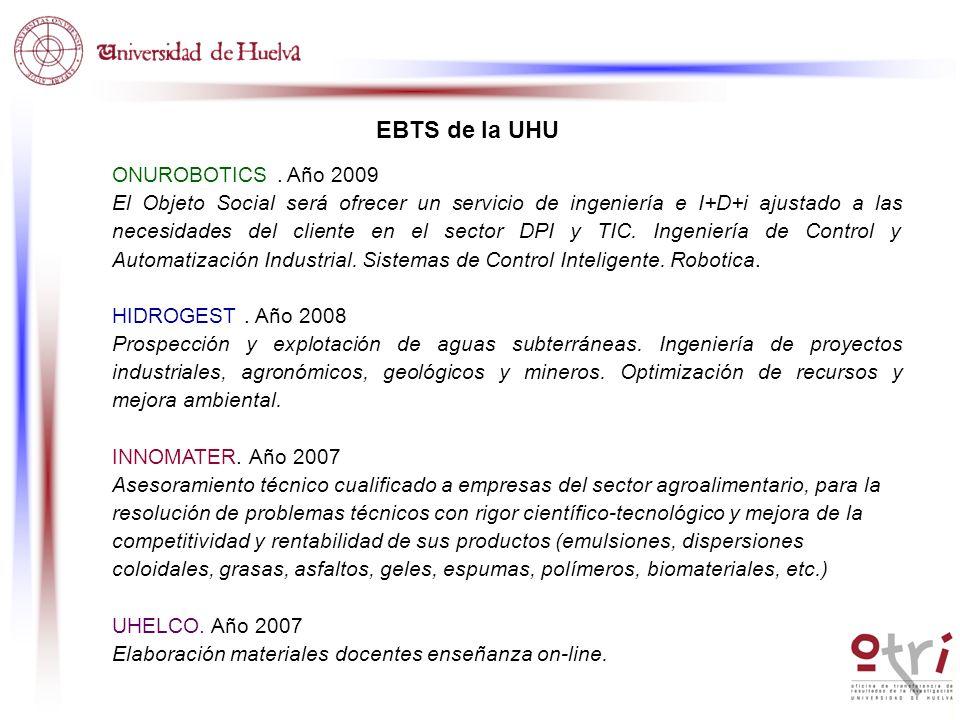 ONUROBOTICS. Año 2009 El Objeto Social será ofrecer un servicio de ingeniería e I+D+i ajustado a las necesidades del cliente en el sector DPI y TIC. I