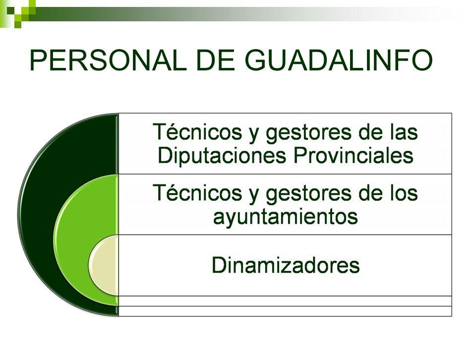 PERSONAL DE GUADALINFO