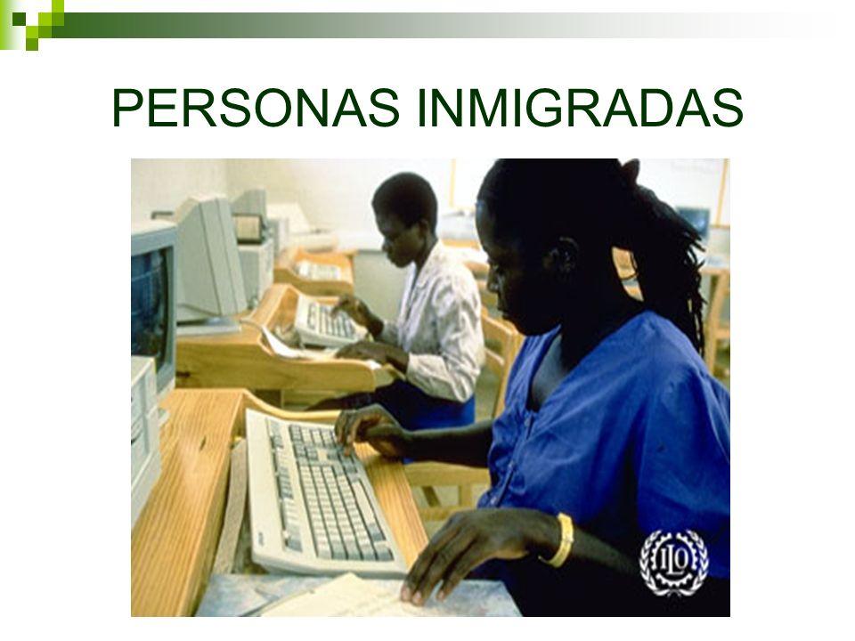 PERSONAS INMIGRADAS