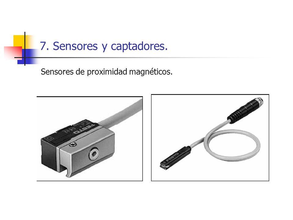 7. Sensores y captadores. Sensores de proximidad magnéticos.