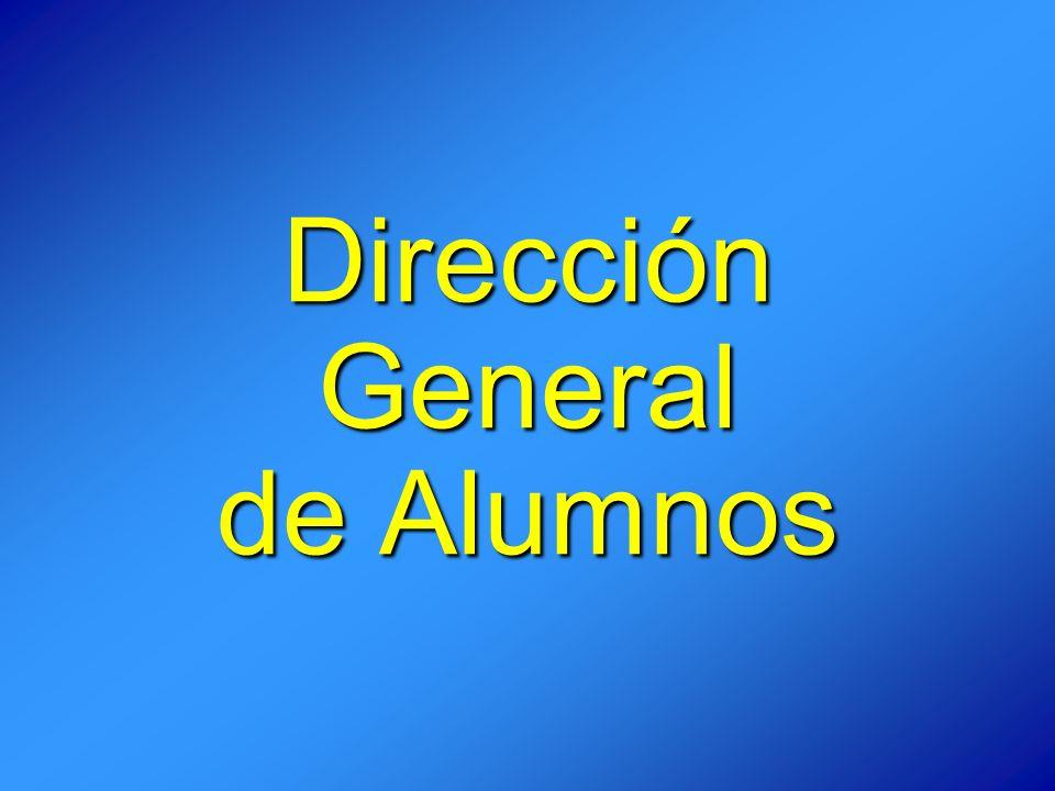 Dirección General de Alumnos