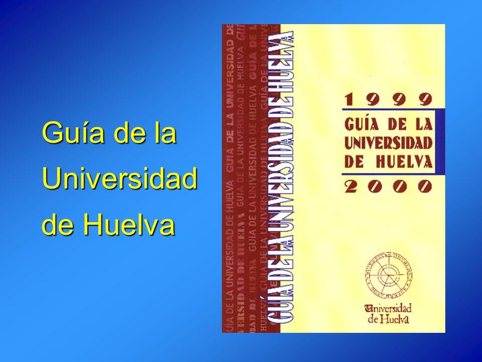 Guía de la Universidad de Huelva