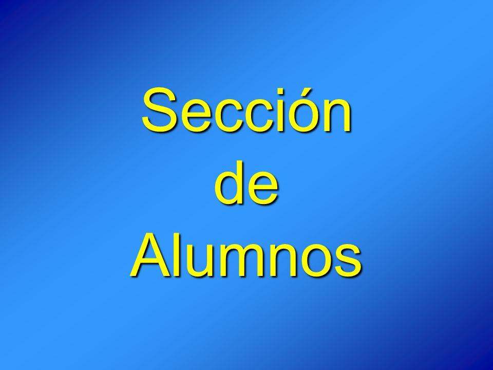 Sección de Alumnos