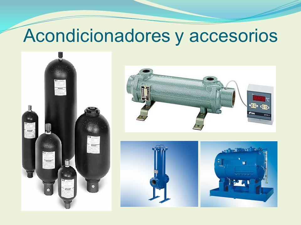 Acondicionadores y accesorios