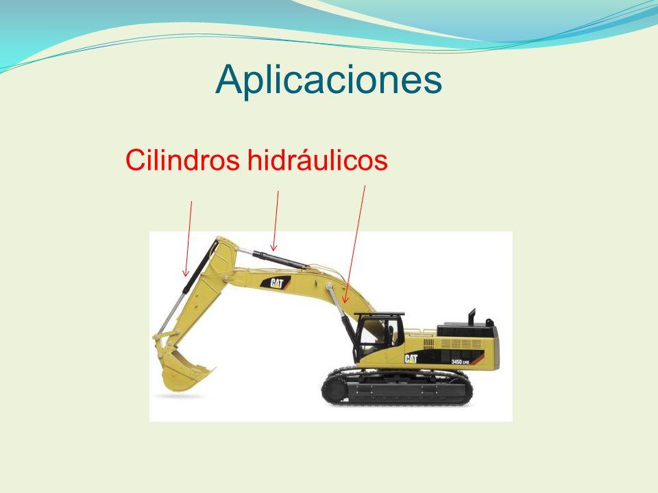 Aplicaciones Cilindros hidráulicos