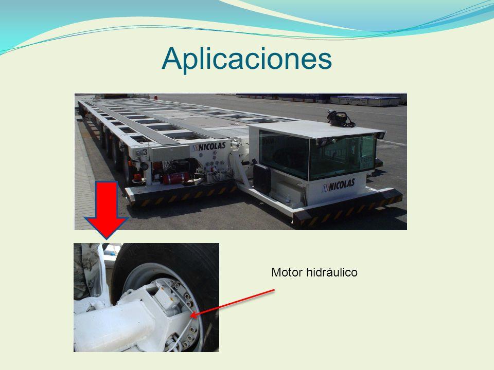 Aplicaciones Motor hidráulico