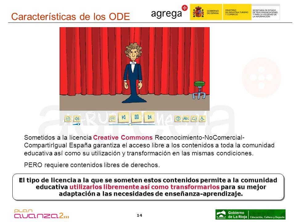 14 Sometidos a la licencia Creative Commons Reconocimiento-NoComercial- CompartirIgual España garantiza el acceso libre a los contenidos a toda la com