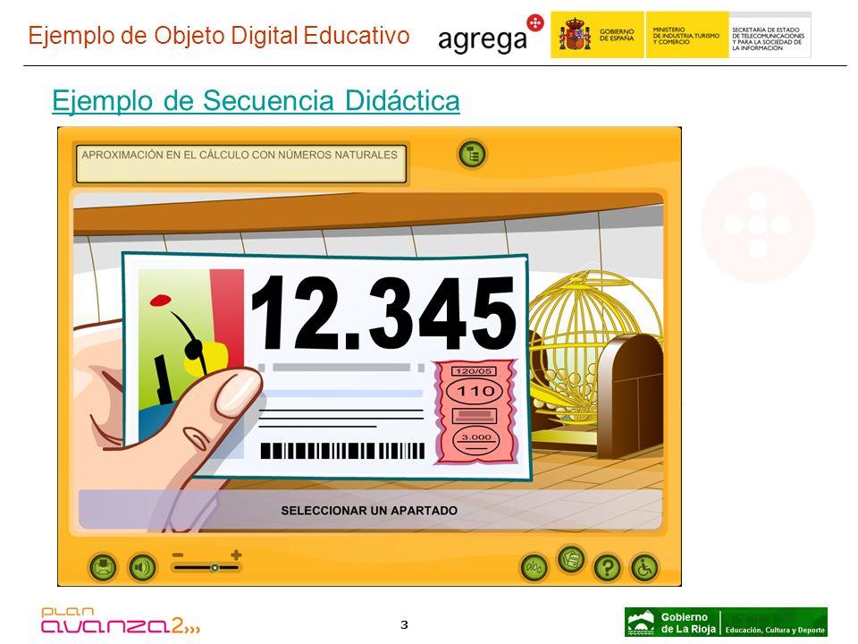 3 Ejemplo de Objeto Digital Educativo Ejemplo de Secuencia Didáctica
