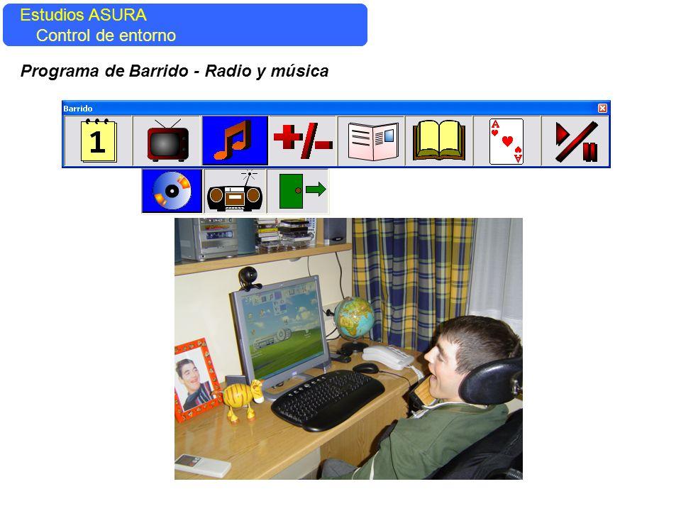 Estudios ASURA Control del entorno Estudios ASURA Control de entorno Programa de Barrido - Radio y música