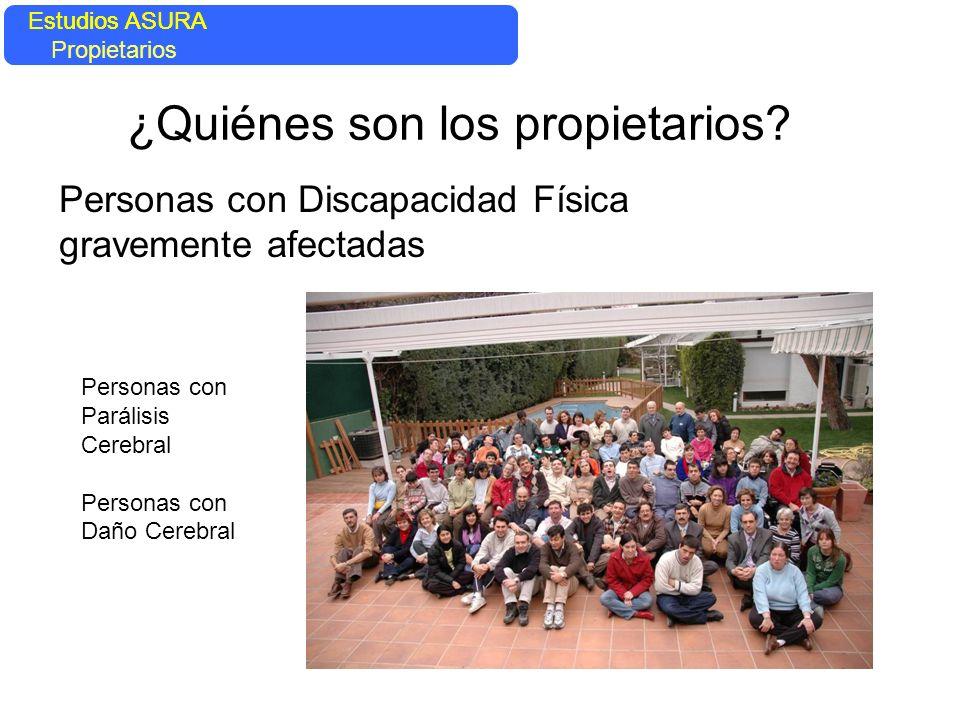 EL SISTEMA EN AYUDA DE LA PERSONA Estudios ASURA Domótica