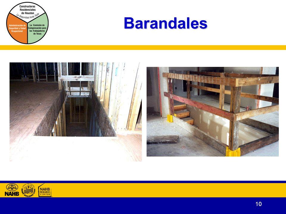 10 Barandales